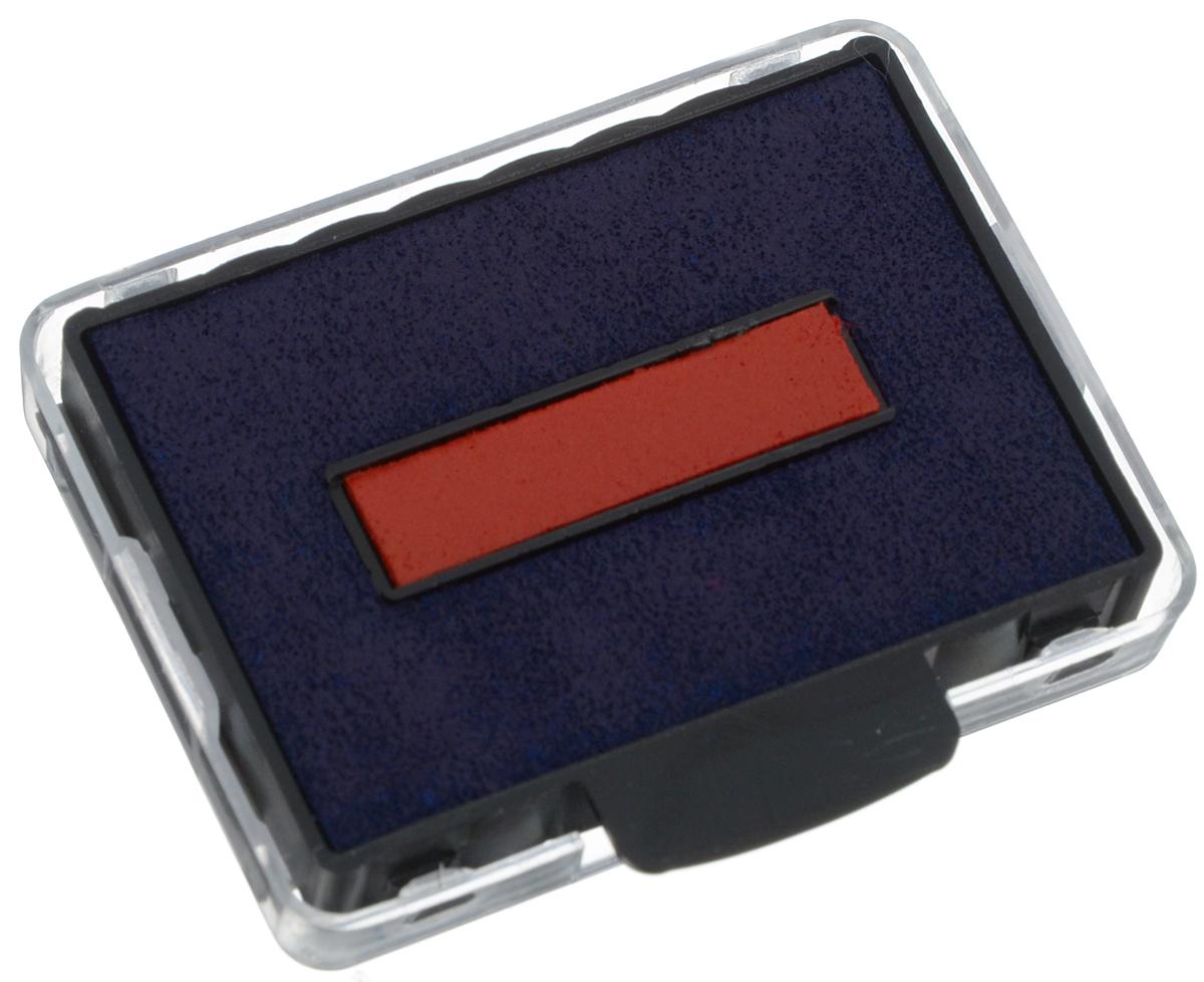 TrodatСменная штемпельная подушка цвет синий красный 6/50/2 Trodat