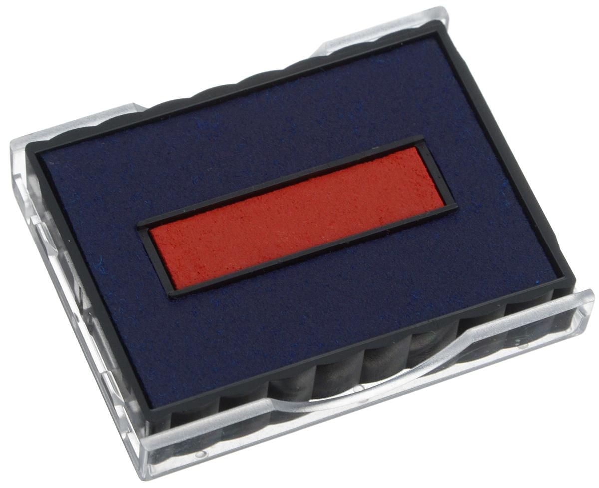 Trodat Сменная штемпельная подушка цвет синий красный 6/4750/2