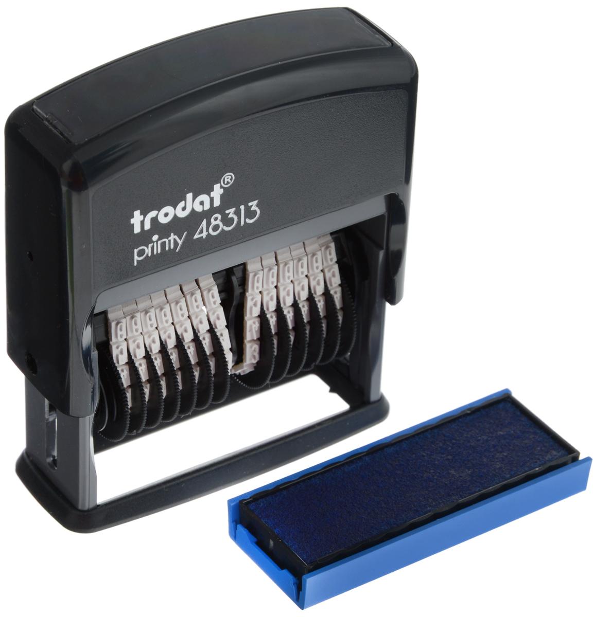 Trodat Нумератор тринадцатиразрядный 3,8 мм