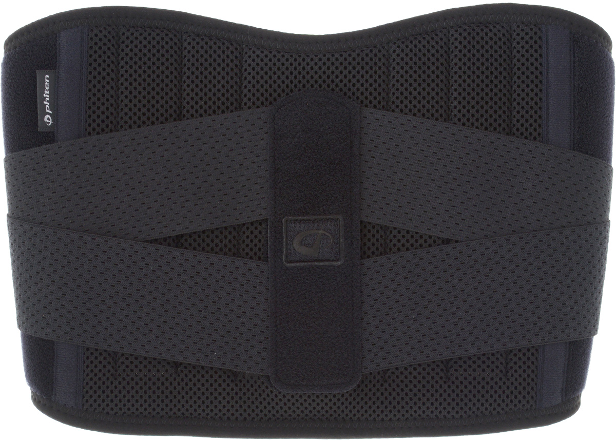 "Суппорт спины Phiten ""Waist Belt. Hard Type"". Размер М (80-100 см)"