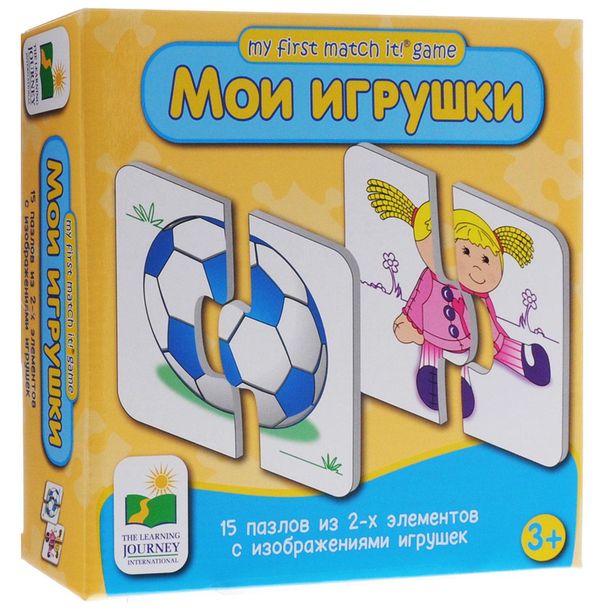 Learning Journey Пазл для малышей Мои игрушки 15 в 1 learning journey