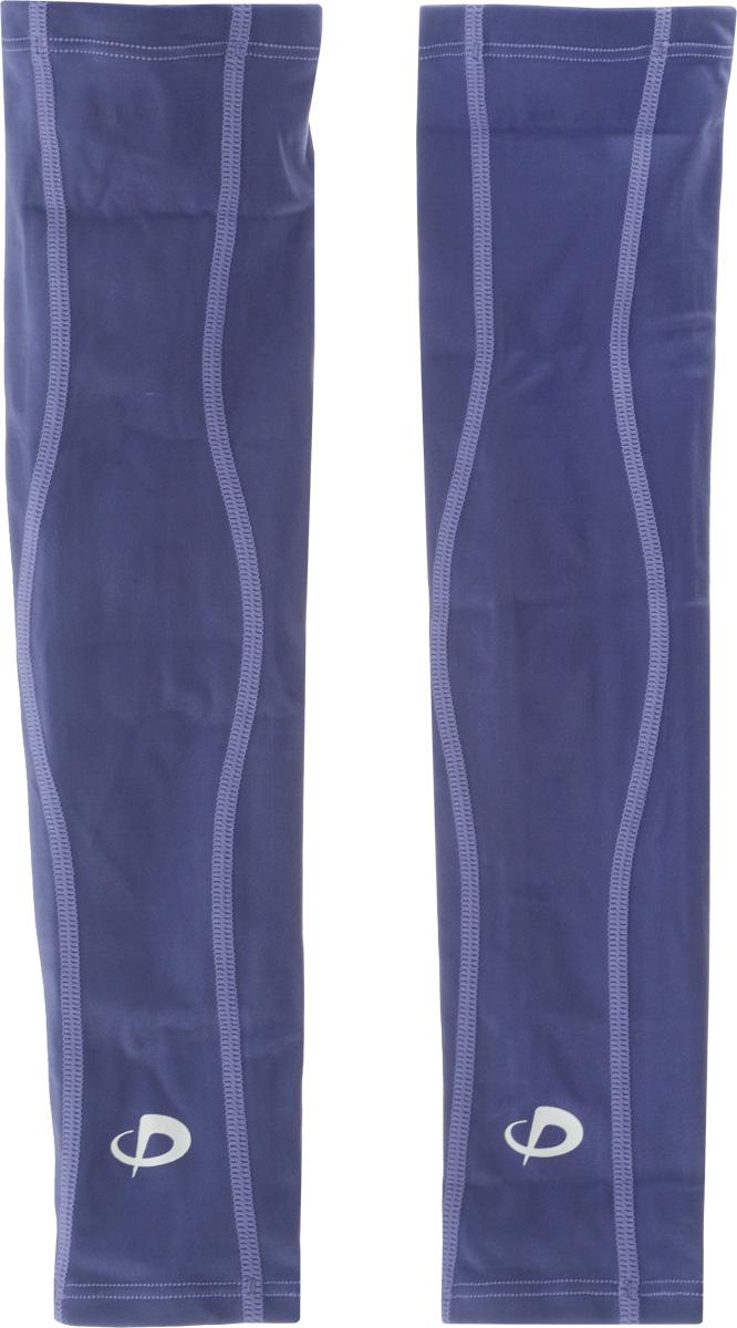 """Рукав силовой Phiten """"X30 Long"""", цвет: фиолетовый, 2 шт. Размер L (26-32 см)"""