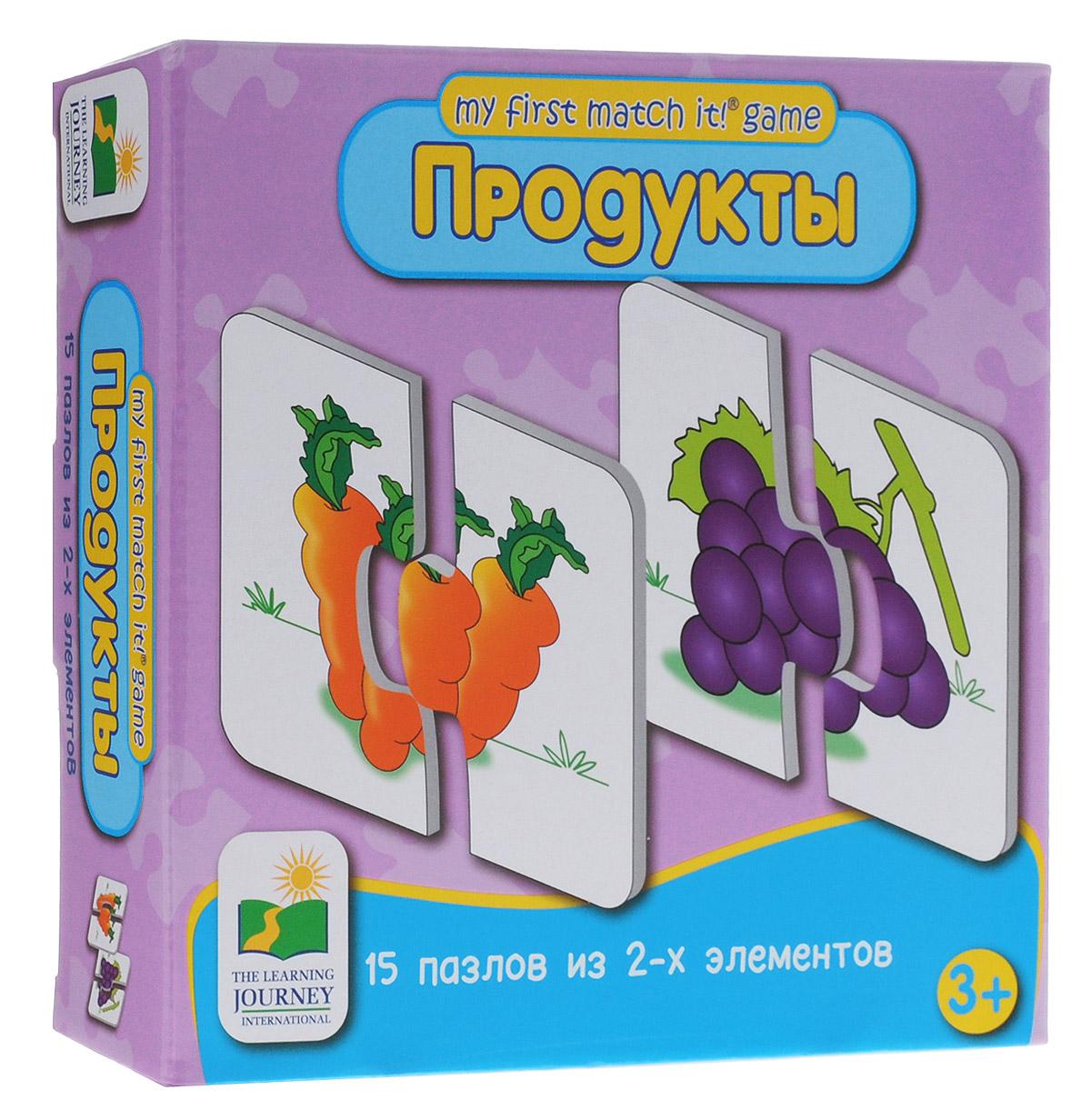 Learning Journey Пазл для малышей Продукты 15 в 1 learning journey