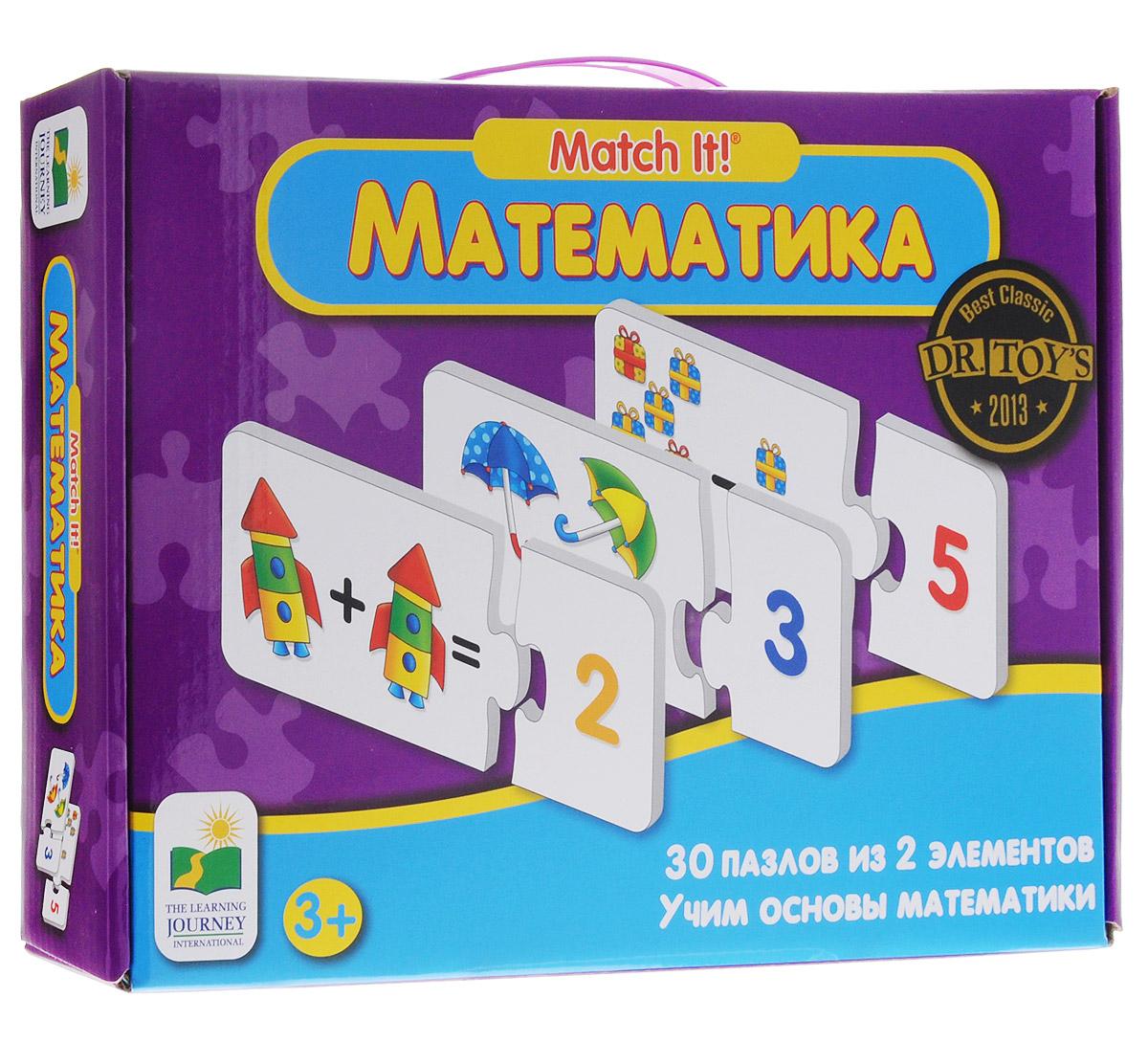 Learning Journey Пазл для малышей Математика 30 в 1 learning journey