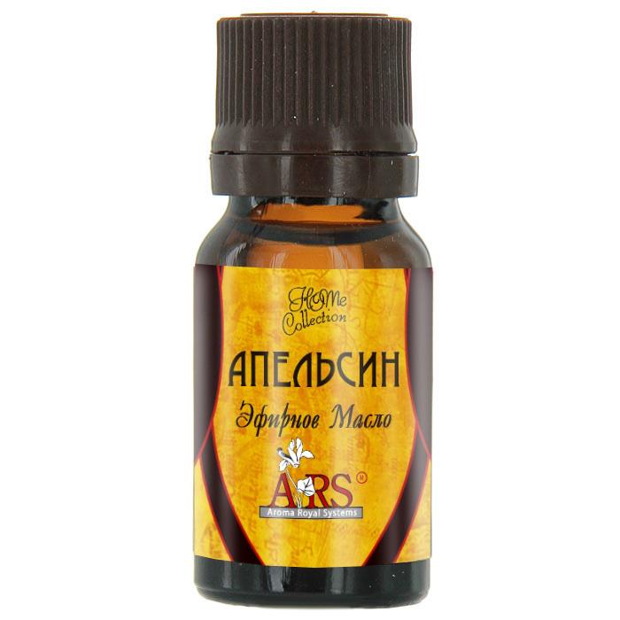 ARS/АРС Эфирное масло Апельсин, 10 млАрс-025Эфирное масло ARS Апельсин получено из цедры апельсина методом холодного отжима. Масло имеет характерный цитрусовый аромат, вызывает чувство бодрости, устраняет тревогу и печаль, стабилизирует настроение, обладает антибактериальными и антиоксидантными свойствами. Используйте его для ароматизации помещений, в ингаляциях для предотвращении простудных заболеваний верхних дыхательных путей, а также, обогащая косметические средства для повышения упругости и борьбы с целлюлитом.