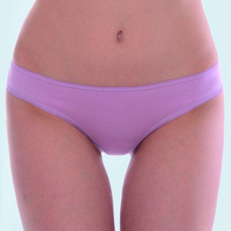 Трусы-бразилиана женские Vis-A-Vis, цвет: светло-розовый. DSL1024. Размер S (44)DSL1024Трусы-бразилина выполнены из качественного материала с кружевной задней частью.
