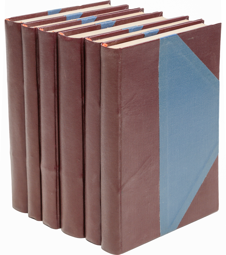 Собрание сочинений Луи Жаколио (комплект из 6 книг)