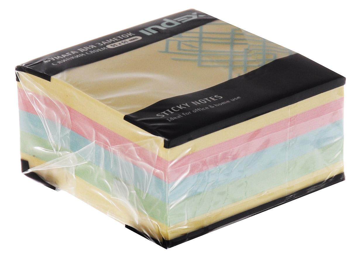 Бумага для заметок Мини-куб, с липким слоем, 250 листовI436801Бумагу для заметок Мини-куб с липким слоем можно наклеивать на любую гладкую поверхность, без опасения оставить след от клея. Яркие цвета, классический дизайн и высокое качество листов выделяют предлагаемую бумагу из ряда себе подобных. Характеристики: Размер листа: 5,1 см х 5,1 см. Размер упаковки: 5,1 см х 5,1 см x 2,5 см.