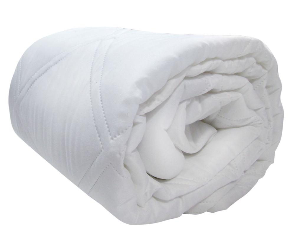 Одеяло Лебедушка в чехле из однотонной ткани Биософт (100% пэ) с наполнителем искусственный лебяжий пух. Легко стирается и быстро сохнет.