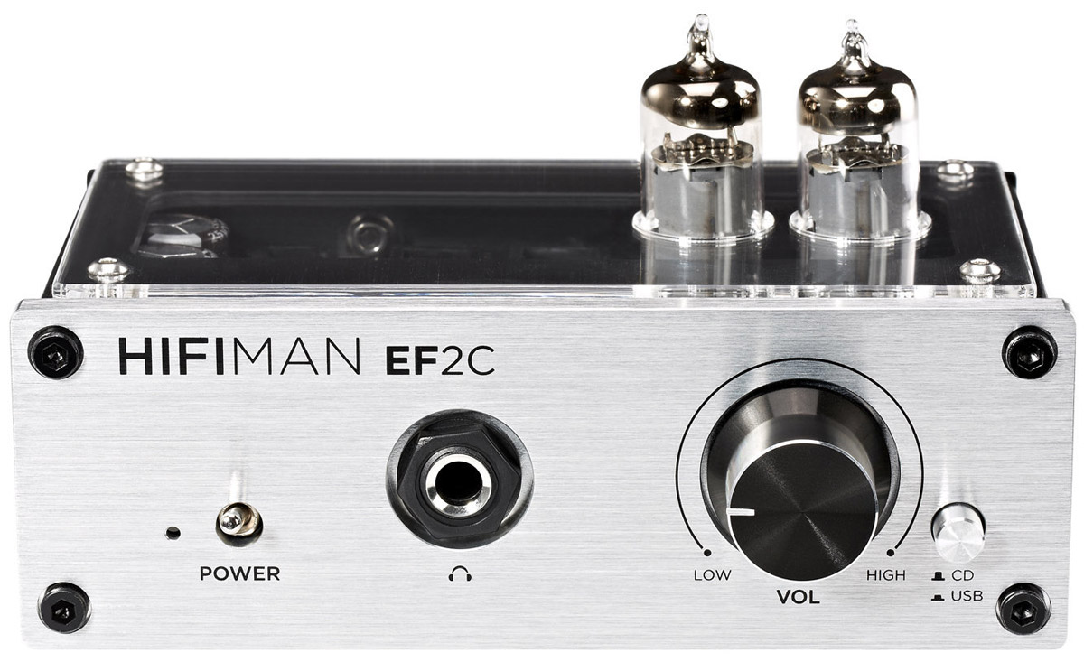 HiFiMAN EF2C усилитель для наушников15118499усилитель гибридный и USB ЦАП, сигнал/шум 90 дБ, 144 х 78 х 110 мм, 1,36 кг