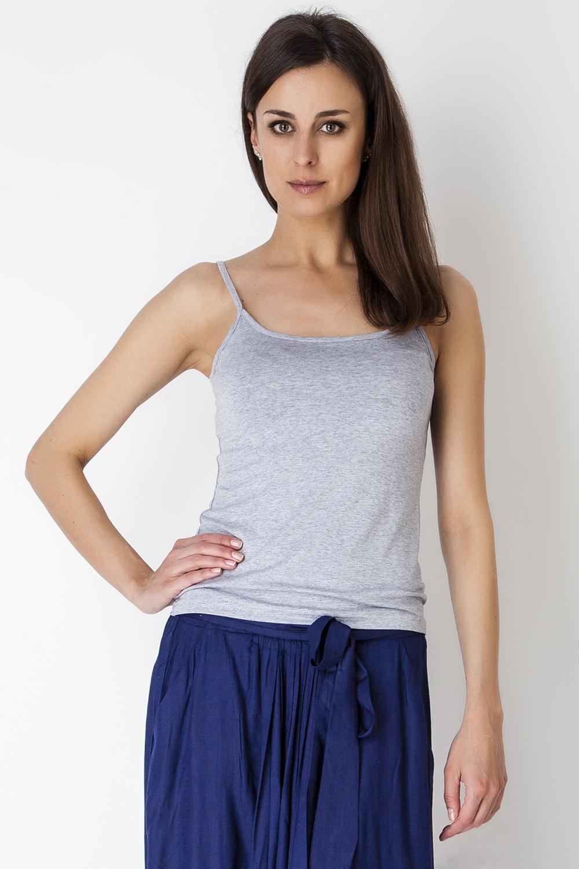 Топ женский Vis-A-Vis, цвет: серый. LTV6214. Размер L (48)