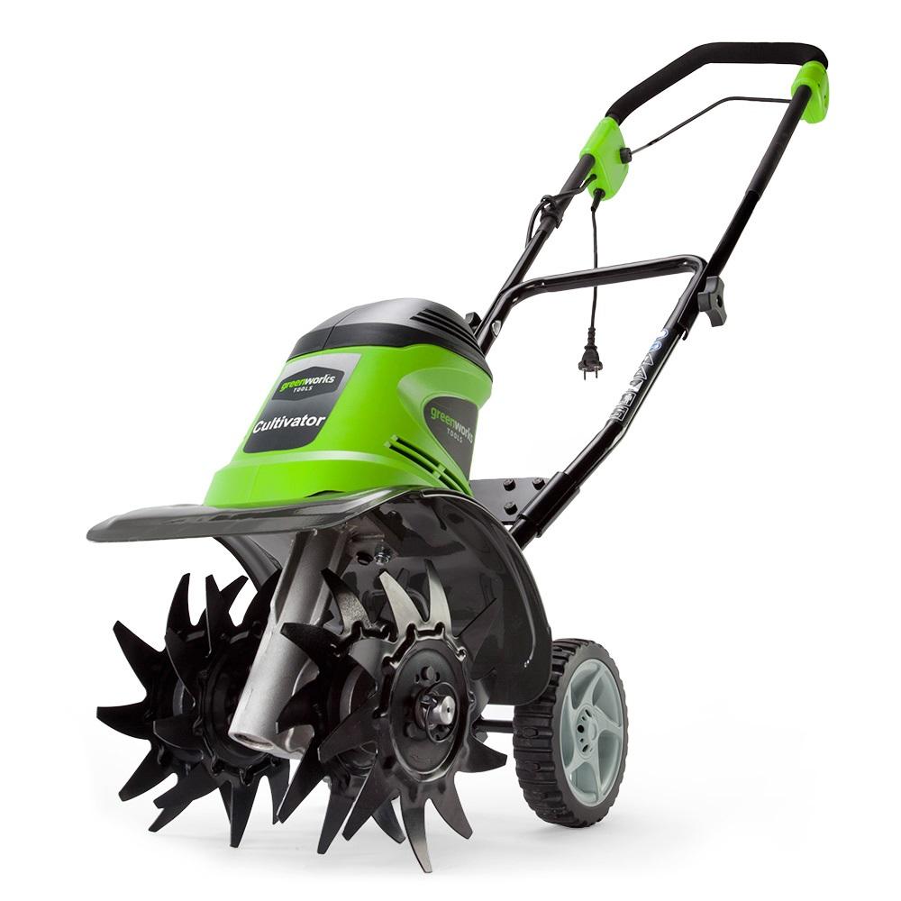 Культиватор электрический Greenworks  GTL9526 , 950 Вт - Садовая техника