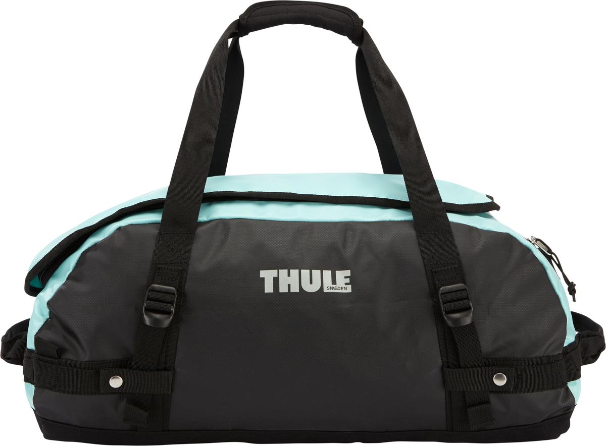 Туристическая сумка-баул Thule Chasm S, цвет: голубой, черный, 40 л 15 6 рюкзак для ноутбука thule enroute 2 blur карман для ipad tebd 217k ударостойкий черный