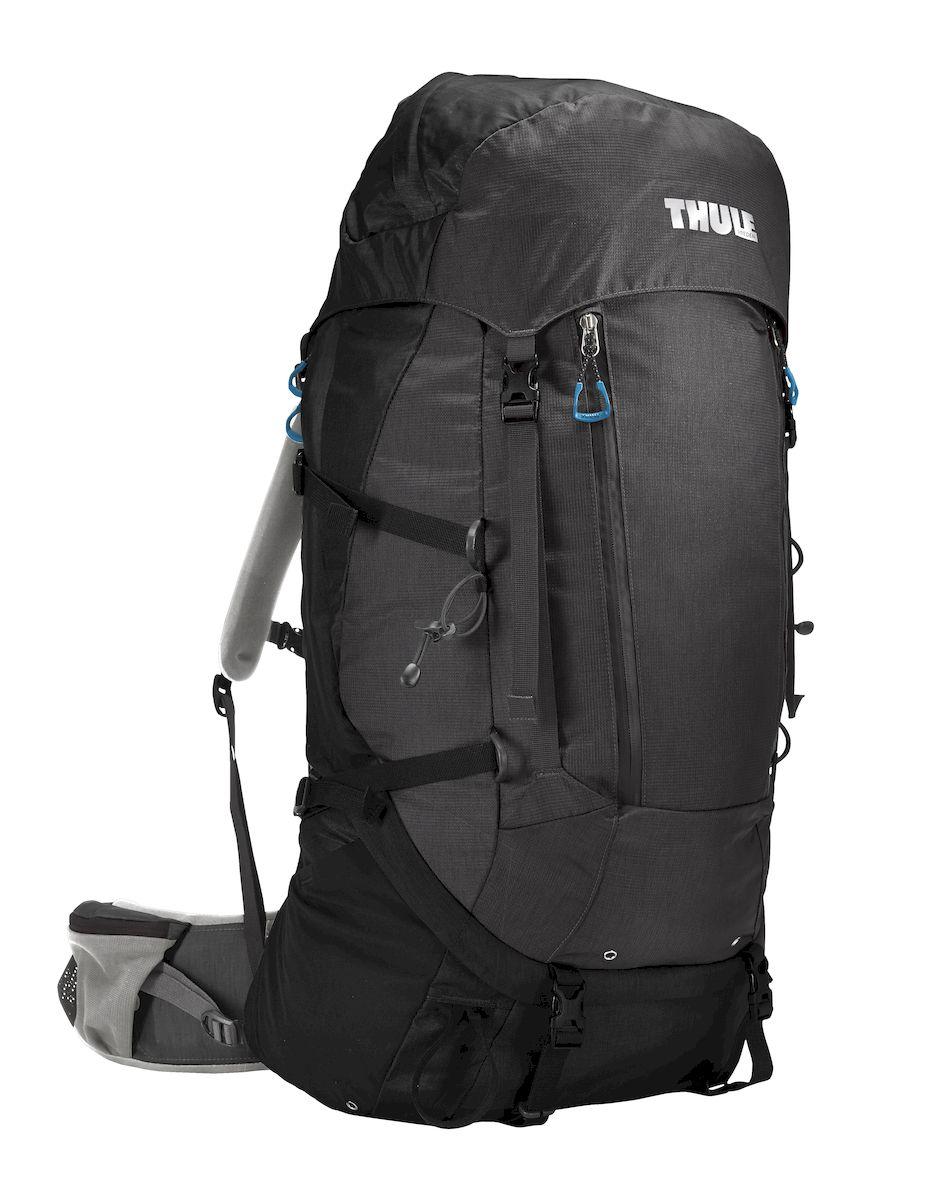 Рюкзак треккинговый мужской Thule Guidepost, цвет: темно-серый, 65 л206300Удобный треккинговый мужской рюкзак Thule Guidepost отличается настраиваемой системой крепления TransHub, обеспечивающей идеальную посадку, поворачивающимся набедренным ремнем, который позволяет рюкзаку повторять ваши движения, специальными наплечными и набедренными ремнями для женщин и крышкой, способной трансформироваться в дополнительный рюкзак, который поможет вам покорить любую вершину.Легкая регулировка ремней для торса на 15 см обеспечивает идеальную посадку, а наплечные ремни QuickFit позволяют выбрать из один из трех вариантов длины наплечных ремней. Система крепления Transhub с алюминиевой опорой и проволочным каркасом из пружинной стали позволяют перенести вес рюкзака на бедра, обеспечивая более удобную переноску. Поворачивающийся набедренный ремень позволяет рюкзаку повторять ваши движения, обеспечивая большую естественность передвижения и улучшенный баланс. Съемная крышка трансформируется в просторный рюкзак 24 л, позволяя сочетать два рюкзака в одном. Удобный доступ к содержимому рюкзака благодаря большой J-образной застежке на молнии на боковой панели. Воздухопроницаемая задняя панель обеспечивает поддержку в главных точках соприкосновения, но при этом позволяет воздуху циркулировать и не дает вам потеть. Два больших передних кармана на застежках-молниях предназначены для хранения часто используемых предметов. Удобное хранение треккинговых палок или ледоруба при помощи двух петель-креплений. Два кармана на набедренном ремне с застежками-молниями и эластичные боковые карманы позволяют хранить бутылки, еду и другие мелкие предметы. Конструкция, предназначенная для хранения воды, включает внешний карман для бутылки с водой и обеспечивает удобный доступ к ней.Что взять с собой в поход?. Статья OZON Гид