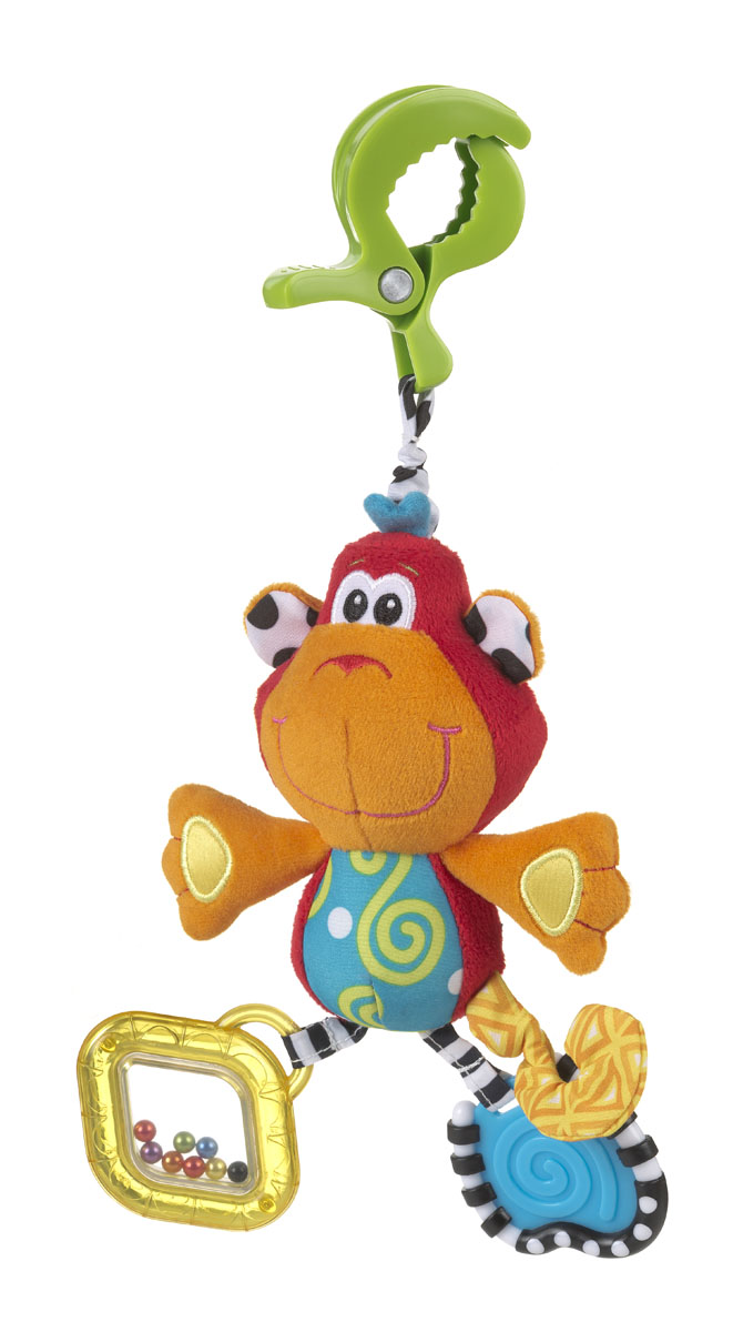 Playgro Игрушка-подвеска Обезьянка playgro погремушка шар