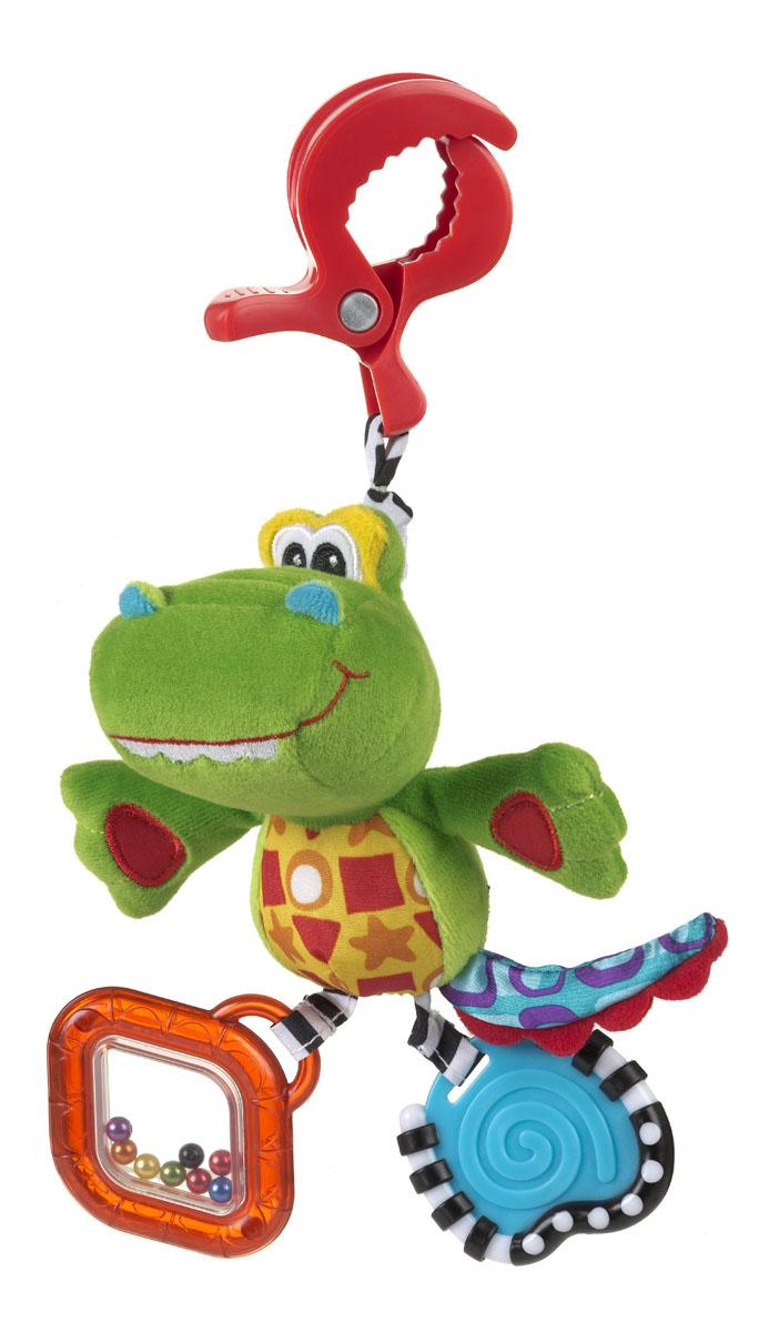 Playgro Игрушка-подвеска Крокодильчик playgro погремушка шар