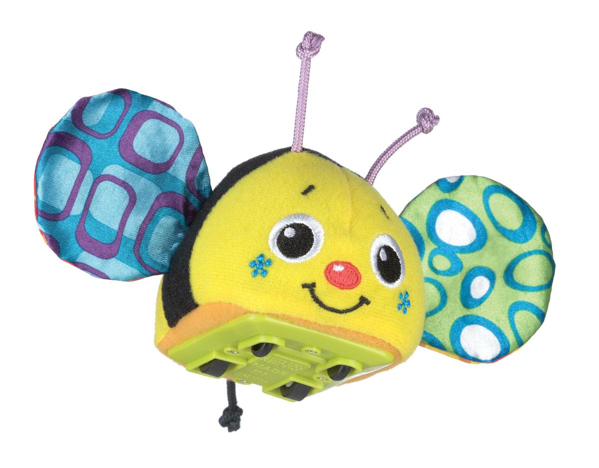 Playgro Игрушка инерционная Пчелка мягкие игрушки playgro игрушка инерционная мышка