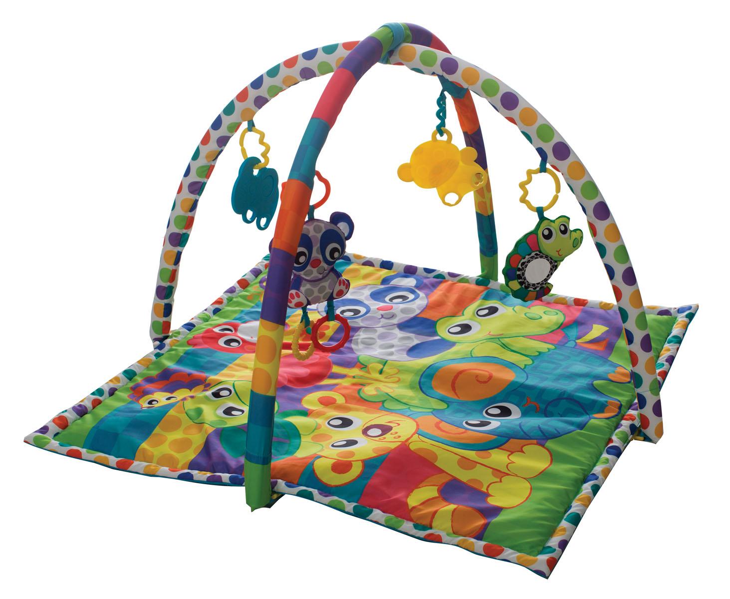Playgro Развыивающий коврик В мире животных
