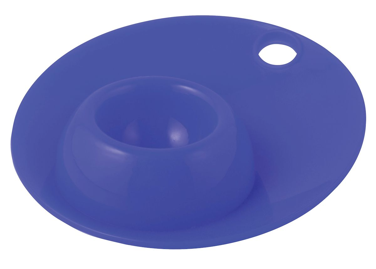 Подставка для яйца Regent Inox Завтрак, силиконовая, 12 х 12 х 2,5 см подставка для ножей regent inox block 11 х 11 х 22 см