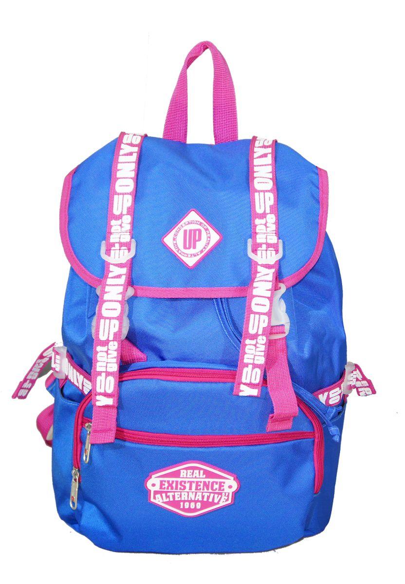 Рюкзак дизайнерский UFO people, цвет: синий. 25 л. 09-6 рюкзаки victorinox рюкзак altmont 3 0 laptop backpack 15 6 versatek 25 л