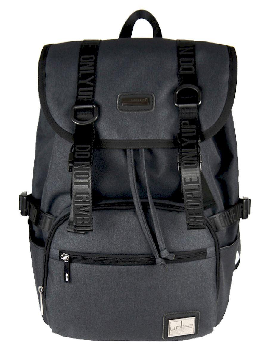 Рюкзак дизайнерский UFO people, цвет: темно-серый. 23 л. 5375 ufo people рюкзак школьный цвет розовый