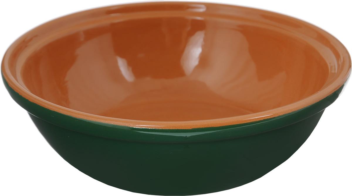 Салатник Борисовская керамика Модерн, цвет: зеленый, коричневый, 500 млРАД14456945_зеленый, коричневыйСалатник Борисовская керамика Модерн выполнен из высококачественной керамики. Он придется по вкусу каждому и порадует вас и ваших близких. Салатник Борисовская керамика Модерн идеально подойдет для сервировкистола и станет отличным подарком к любому празднику.Можно использовать в духовке и микроволновой печи. Диаметр (по верхнему краю): 17,5 см.Высота: 5,5 см.Объем: 500 мл.