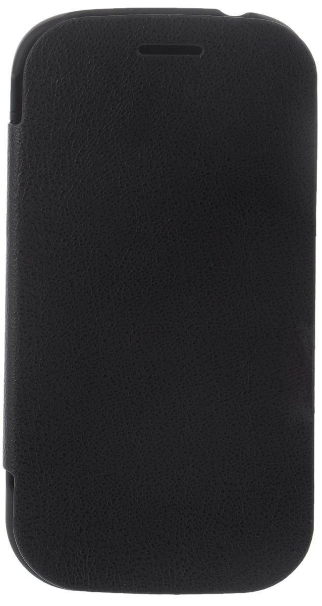 EXEQ HelpinG-SF02 чехол-аккумулятор для Samsung Galaxy S3 mini, Black (1900 мАч, флип-кейс)