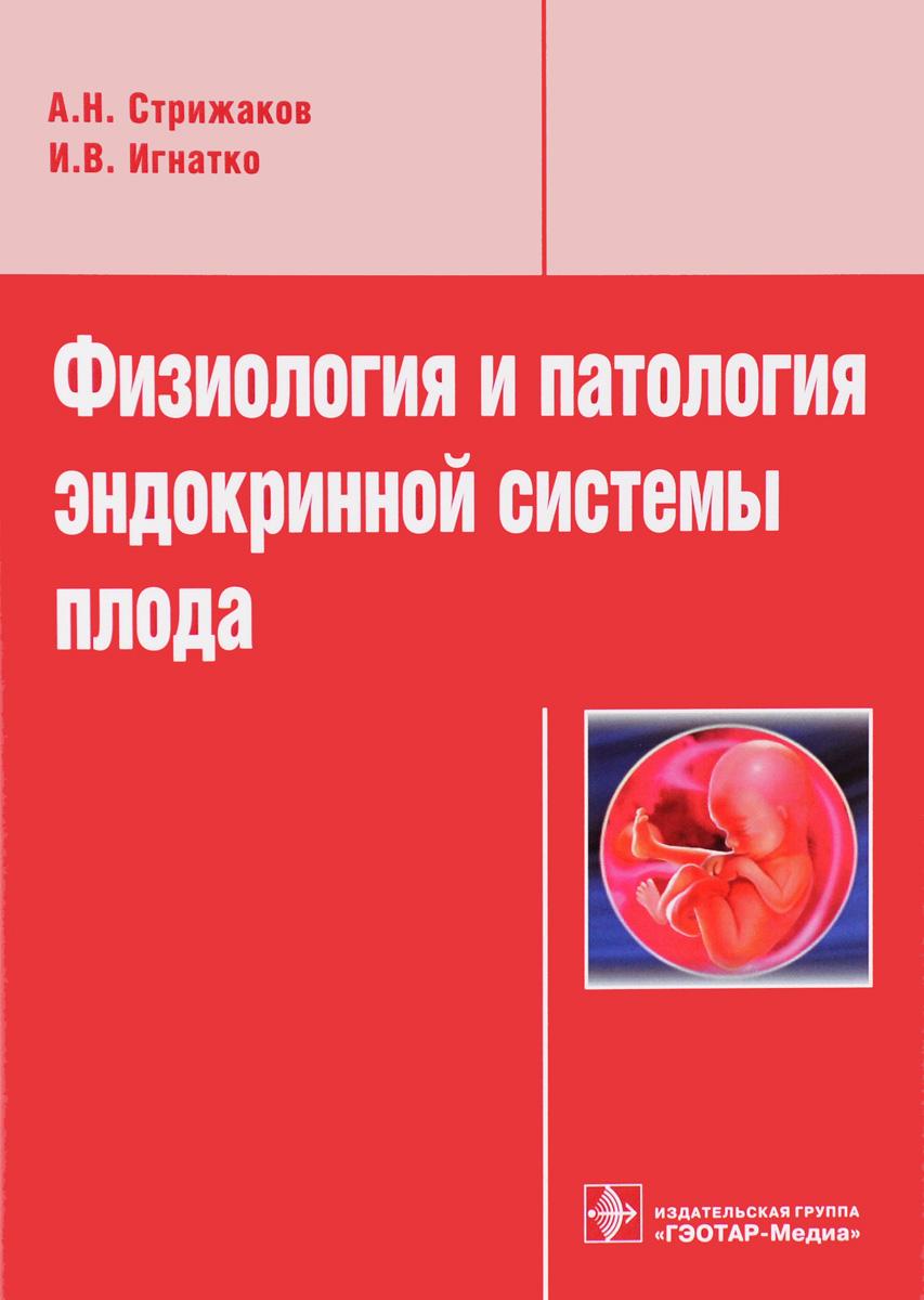 А. Н. Стрижаков, И. В. Игнатко Физиология и патология эндокринной системы плода а н стрижаков е в тимохина и в игнатко л д белоцерковцева патофизиология плода и плаценты
