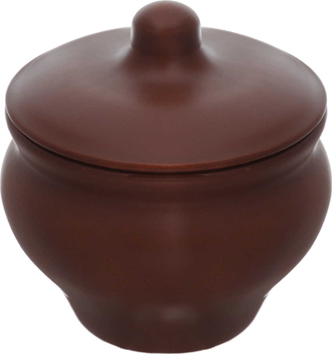 Горшочек для запекания Борисовская керамика Мечта хозяйки, цвет: коричневый, 350 млШЛК14457931_коричневыйЕсли вы любите готовить небольшие блюда, вроде сытных жульенов или отдельно запеченного мяса – горшочек Борисовская керамика Мечта хозяйки именно для вас. Объем изделия позволяет использовать его для приготовления мини-блюд.Но это еще не все - горшочек будет очень удобен для хранения специй и приправ. Он выполнен из высококачественной керамики. В результате вы получаете одновременно посуду для приготовления и емкость для хранения.Горшочек подходит для использования в духовке и микроволновой печи.Диаметр (по верхнему краю): 9,7 см.Высота горшочка (без учета крышки): 8 см.
