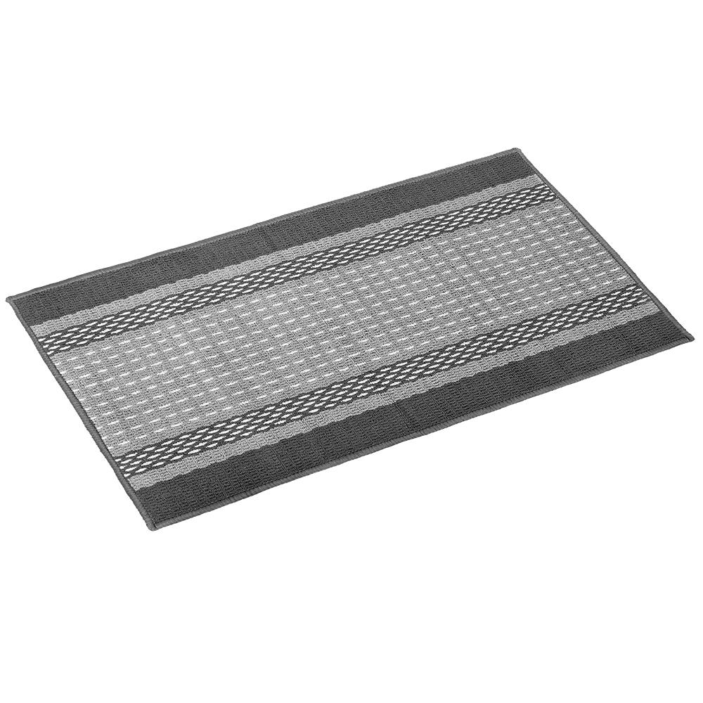 Коврик Vortex Madrid, 50х80 см, цвет: серый22448Ворс - 100% Полипропилен. Подложка - 100% латекс.