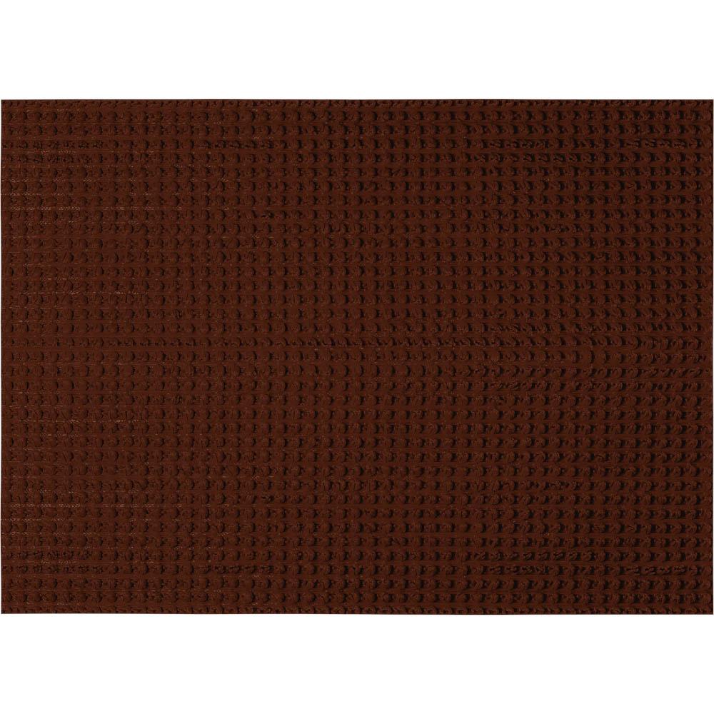 Коврик придверный Vortex Травка, противоскользящий, цвет: темно-коричневый, 45 х 60 см24101Придверный коврик Vortex Травка, выполненный из резины, прост в обслуживании, прочный и устойчивый. Конструкция коврика имеет специальную поверхность, которая помогает более эффективно удалить грязь с обуви. Его основа предотвращает скольжение по гладкой поверхности и обеспечивает надежную фиксацию. Такой коврик надежно защитит помещение от уличной пыли и грязи.