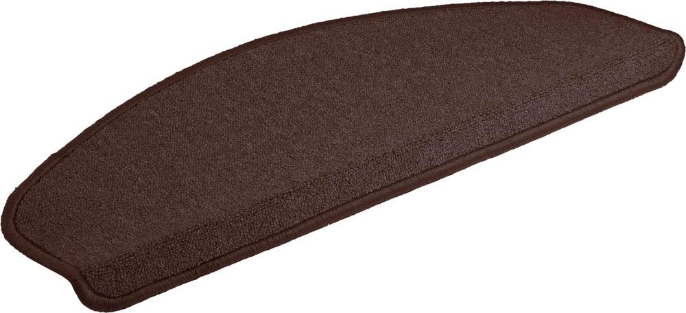 Коврик Vortex, на ступеньку, цвет: темно-коричневый, 25 х 65 см коврик vortex на ступеньку цвет черный 25 см х 75 см