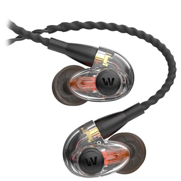 Westone AM PRO10, Clear наушники15118493До сегодняшнего дня исполнителям приходилось выбирать, что слышать в наушниках во время выступления: выделенный микс или окружающую среду. Традиционные полуоткрытые мониторные наушники позволяют слышать внешнюю среду, но их тип конструкции значительно ухудшает частотные характеристики. Благодаря эксклюзивной технологии Westone SLED ты сам контролируешь, что хочешь слышать. Наслаждайся полным частотным диапазоном своего микса, взаимодействуй с другими исполнителями и своей аудиторией. Эти наушники рекомендуется использовать для сценического мониторинга, в особенности для выступления в команде.Арматурный драйвер: запатентованная конструкция обеспечивает точное и детализированное звучаниеАкустическая симметрия: отклик левого и правого наушника +/- 3 дБФирменная технология SLED: комбинирует пассивные окружающие звуки с мониторингомТехнология True-Fit: эргономичный дизайн позволяет использовать наушники с комфортом в течение долгого времени