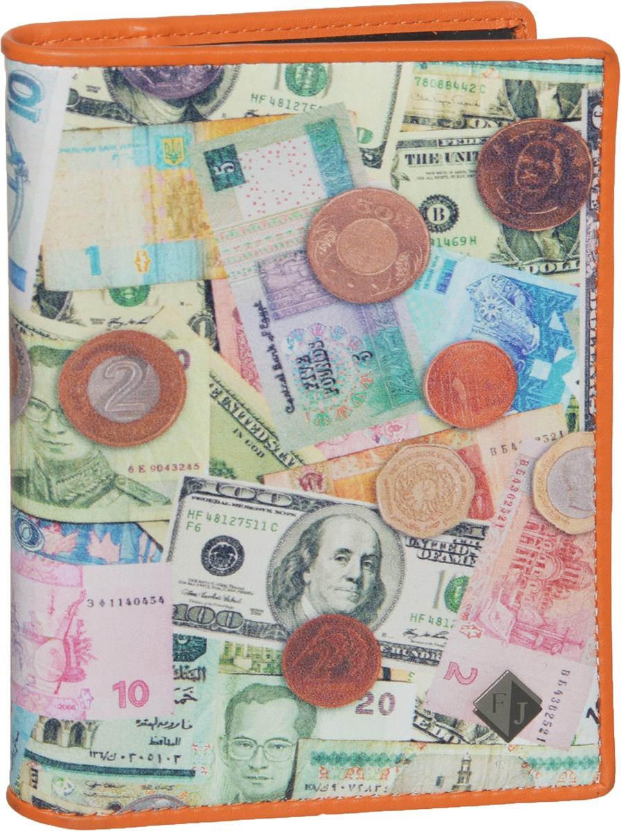 Обложка для автодокументов Flioraj, цвет: мультиколор. 136-MoneyНатуральная кожаСтильная и функциональная обложка для автодокументов Flioraj не только поможет сохранить внешний вид ваших документов, но и станет стильным аксессуаром, идеально подходящим вашему образу.Обложка изготовлена из качественной натуральной кожи, оформлена оригинальным принтом с изображением различных денежных банкнот и монет, а также дополнена металлическим элементом с логотипом бренда. Изделие выполнено с подкладкой из полиэстера.Обложка раскладывается пополам, содержит два боковых открытых кармана и съемный пластиковый блок с шестью файлами, позволяющий рационально разместить все необходимые документы, в том числе страховку.Изделие поставляется в фирменной упаковке, дополнительно прилагается текстильный чехол для хранения.Оригинальная обложка для автодокументов станет отличным подарком для человека, ценящего качественные и практичные вещи.