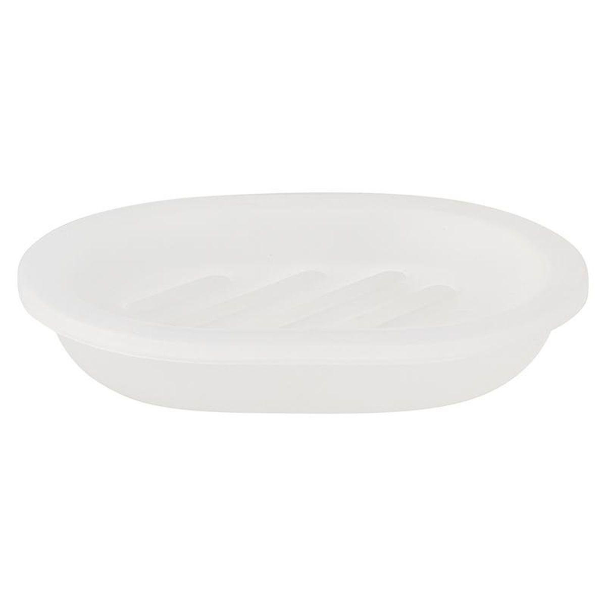 Мыльница Vanstore Summer White, 12 х 8 х 3 см377-04Оригинальная мыльница Vanstore Summer White, изготовленная из пластика, отлично подойдет для вашей ванной комнаты. Изделие отлично сочетается с другими аксессуарами из коллекции Summer White.Такая мыльница создаст особую атмосферу уюта и максимального комфорта в ванной.