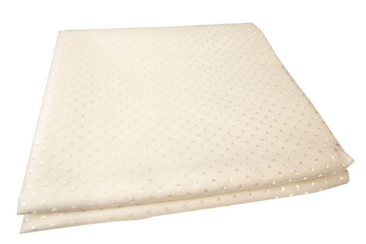 Штора для ванной комнаты Vanstore Star, цвет: бежевый, 180 х 180 см600-11Штора для ванной комнаты Vanstore Star имеет специальную водоотталкивающую пропитку и антигрибковое покрытие. Штора быстро сохнет, легко моется и обладает повышенной износостойкостью. Снабжена утяжеляющей полоской, не позволяющей занавеске мяться.Вид крепления: металлические кольца.