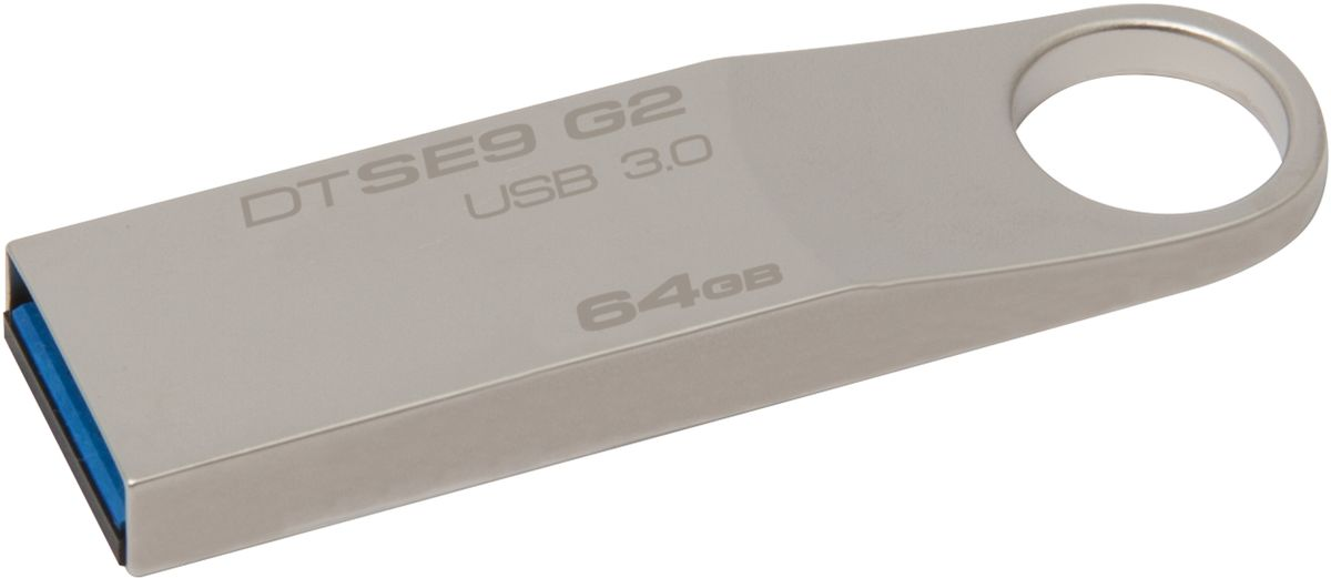 Kingston DataTraveler SE9 G2 64GB USB-накопитель kingston datatraveler se9 8gb