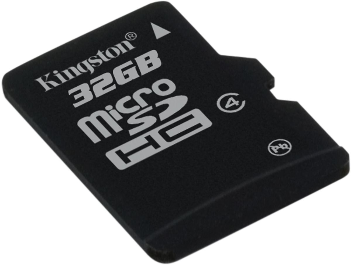 Kingston microSDHC Class 4 32GB, Black карта памяти jd коллекция дефолт mc 4 4 фото карта tf cf карты 8 8 чжан xd карты листов