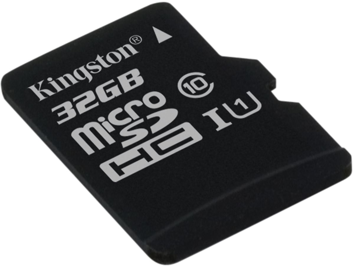 Kingston microSDHC Class 10 UHS-I 32GB карта памяти (45/10 Мб/с)