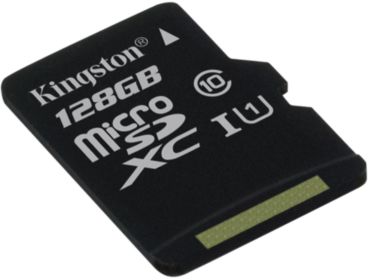 Zakazat.ru Kingston microSDXC Class 10 UHS-I 128GB карта памяти (45/10 Мб/с)