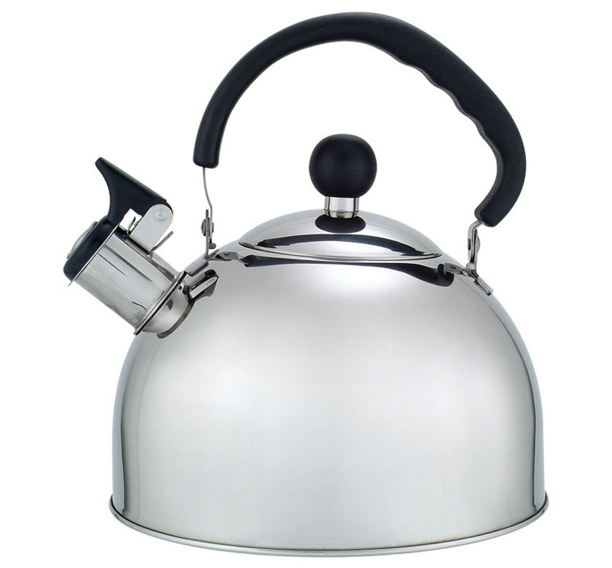 Чайник Добрыня окажется незаменимым помощником в приготовлении чая. Высококачественные материалы обеспечивают продолжительную и безопасную эксплуатацию изделия. Кроме оригинального дизайнерского решения, комбинация высококачественного металла и свистка с внешней поверхностью из бакелита, не позволяет обжечься о раскаленный носик чайника при открытии клапана, для того, чтобы набрать воду или разлить кипяток по чашкам.