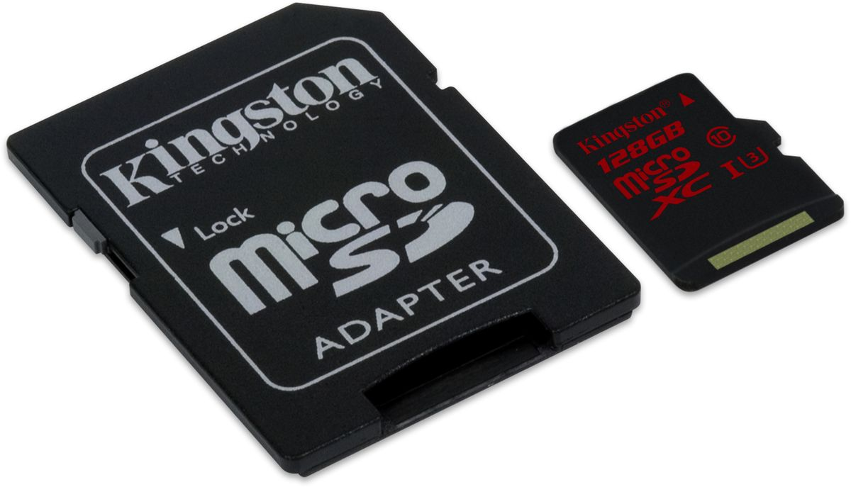 Kingston microSDXC Class 10 U3 UHS-I 128GB карта памяти с адаптером карта памяти каркам microsdxc 128gb class 10