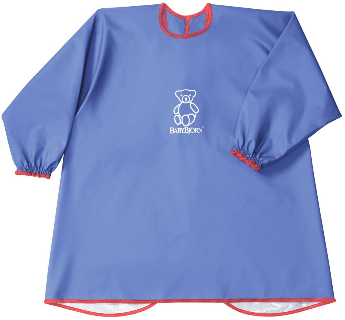BabyBjorn Рубашка для кормления цвет синий babybjorn сиденье для унитаза babybjorn белый с красным