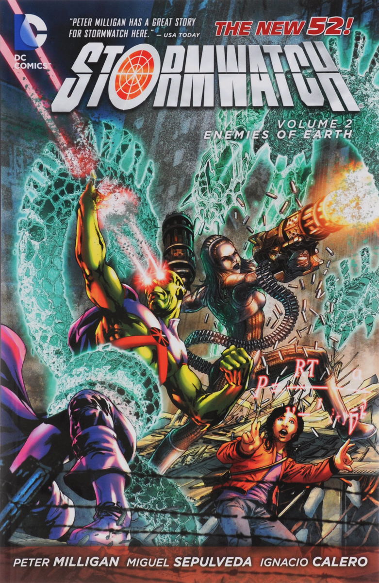 Stormwatch: Volume 2: Enemies of Earth