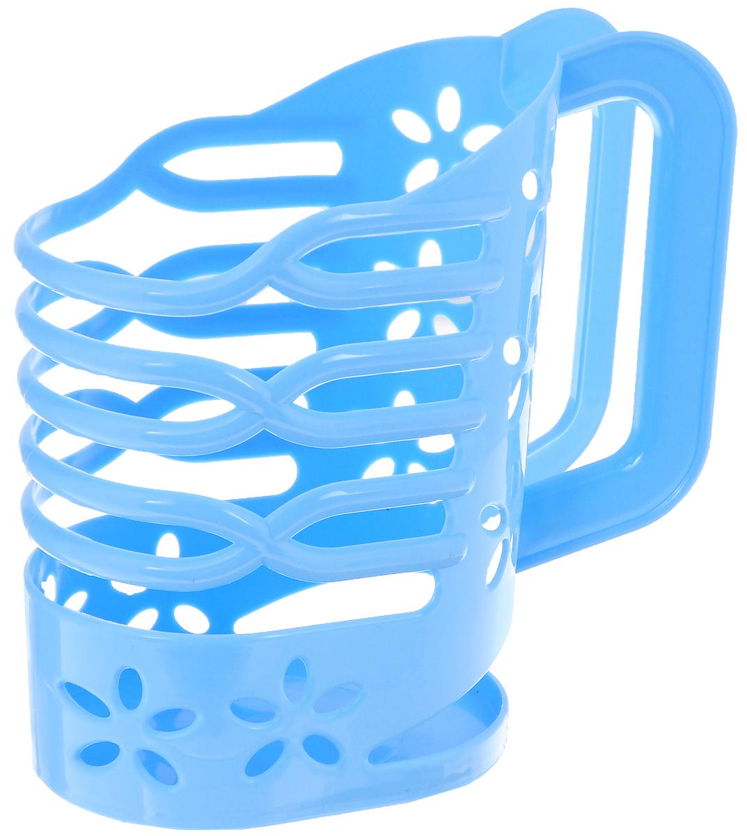 Держатель для молока Альтернатива, цвет: голубой, 1 лM1667_голубойДержатель для молока Альтернатива изготовлен из высококачественного прочного пластика. Изделие предназначено для хранения пакета с молоком, кефиром и другими напитками. Держатель способен подстраиваться под размер пакета и снабжен удобной ручкой. Держатель для молока Альтернатива станет незаменимым аксессуаром на любой современной кухне.Предназначен для молочных пакетов объемом: 1 л.