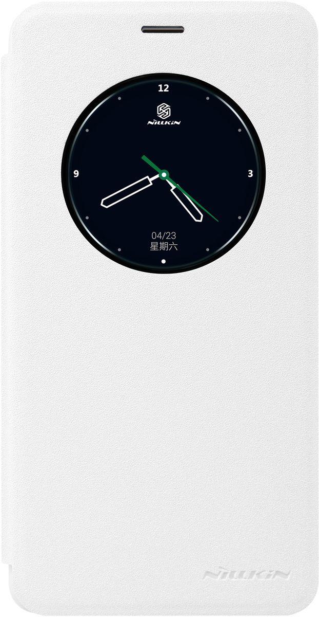 Nillkin Sparkle Leather Case чехол для Meizu M3 Note, White874004Y0401Чехол Nillkin Sparkle Leather Case для Meizu M3 Note выполнен из высококачественного пластика и искусственной кожи. Он надежно фиксирует и защищает смартфон при падении. Обеспечивает свободный доступ ко всем разъемам и элементам управления. Благодаря функциональному окну отсутствует необходимость открывать чехол для того, чтобы ответить на вызов, проверить время, воспользоваться камерой или любой другой функцией.
