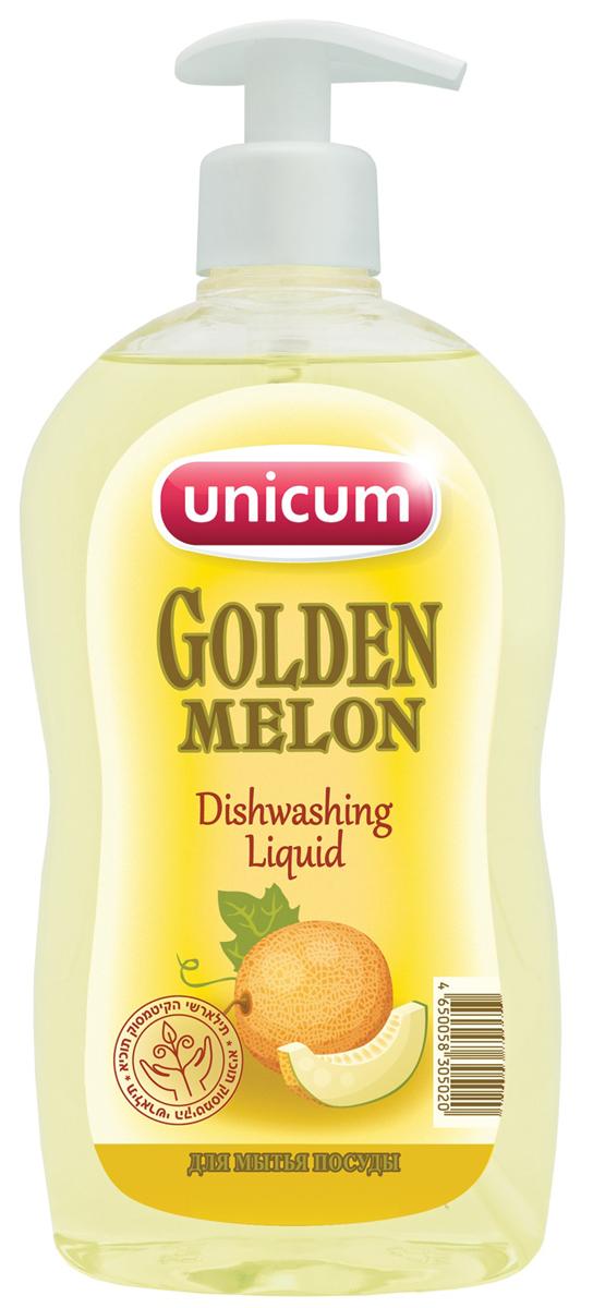 Средство для мытья посуды Unicum Золотая Дыня, 550 мл305020Средство для мытья посуды Unicum Золотая Дыня -высококонцентрированное современное средство для ручного мытья всех видов посуды и изделий из водостойких материалов. Средство легко удаляет остатки жиров, соусов, кремов, присохших частиц пищи, в то же время бережно относится к коже рук. Благодаря наличию активных наночастиц, средство прекрасно смывается со всех видов посуды даже холодной и жесткой водой. Как выбрать качественную бытовую химию, безопасную для природы и людей. Статья OZON Гид