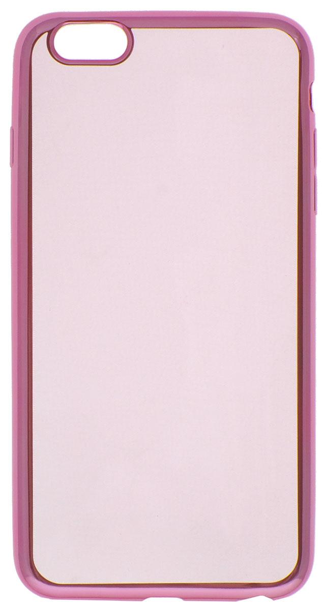 Red Line iBox Blaze чехол для iPhone 6 Plus/6s Plus, PinkУТ000008424Декоративный защитный чехол -накладка Red Line iBox Blaze для iPhone 6 Plus/6s Plus с эффектом металлических граней надежно защитит заднюю крышку смартфона от пыли, царапин и других возможных повреждений.