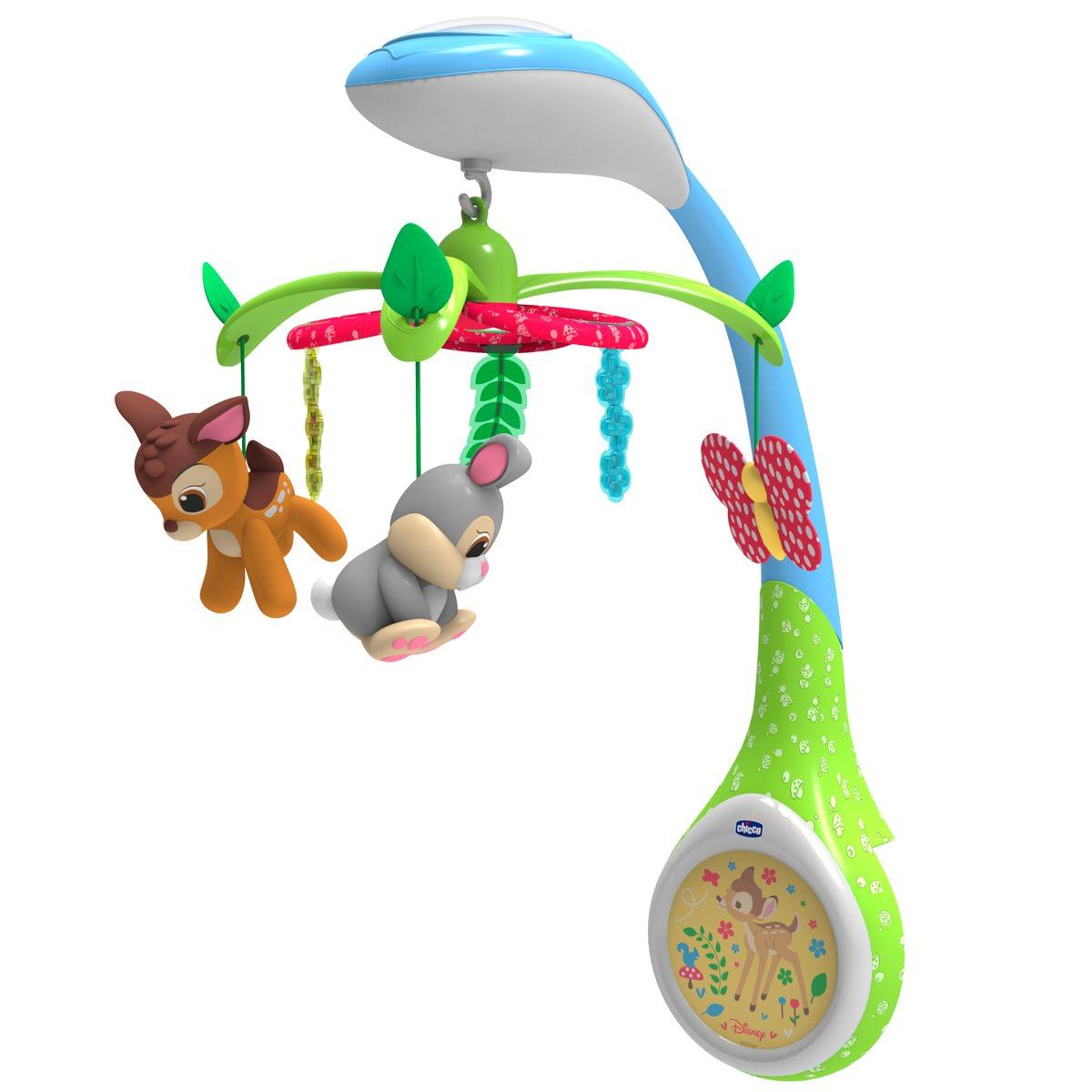 Chicco Игрушка-проектор для кроватки Бемби мобили chicco игрушка проектор для кроватки бемби