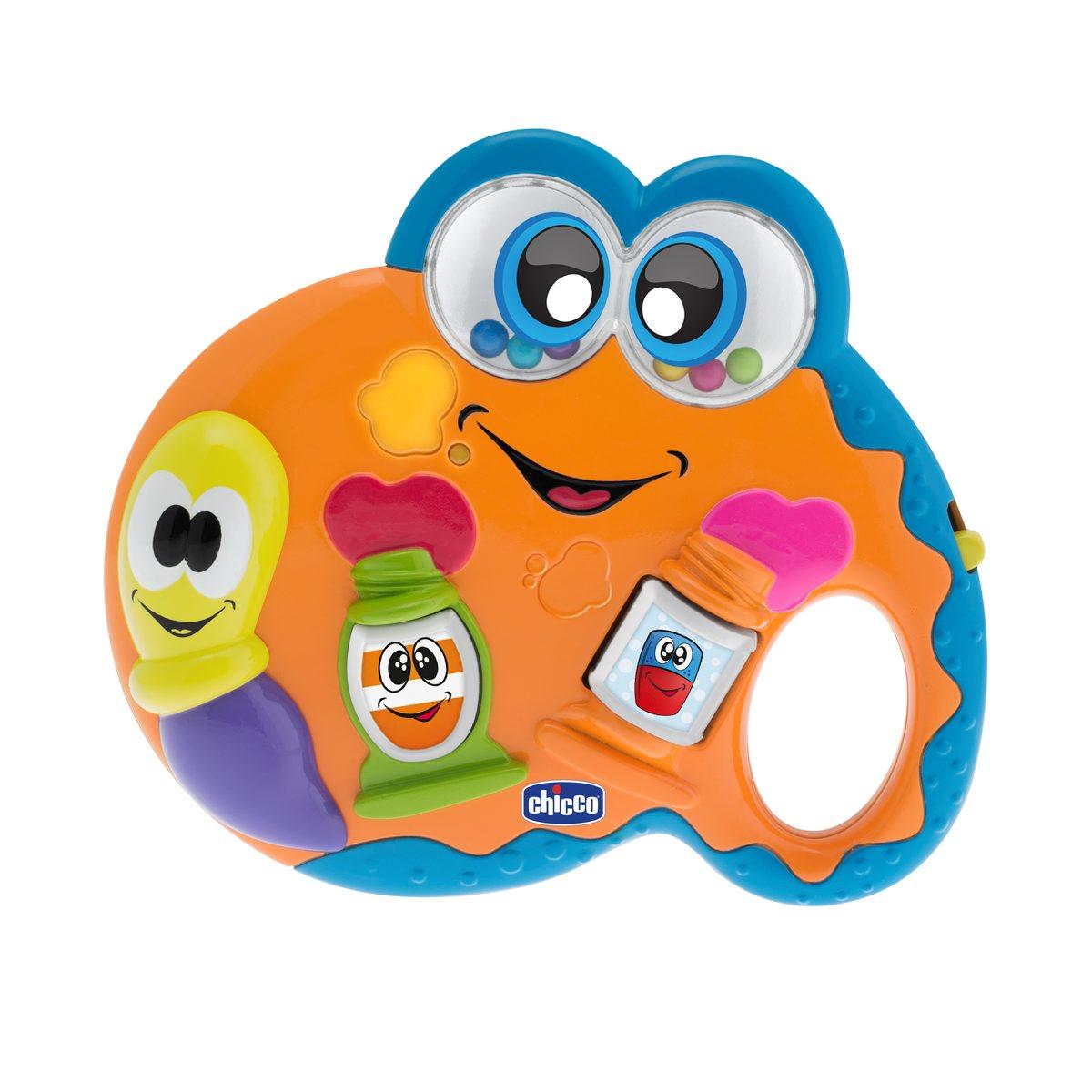 Chicco Музыкальная игрушка Палитра музыкальная подвеска на кроватку chicco чико спокойной ночи цвет голубой